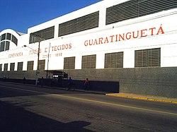 Mais antiga indústria de Guaratinguetá. Zona Oeste.