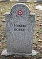 GuentherZ 2013-01-12 0325 Wien11 Zentralfriedhof Gruppe88 Soldatenfriedhof franzoesisch WK2 Fernand Robert.JPG