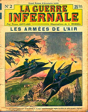 Albert Robida - La Guerre Infernale, Episode 2, January 1908