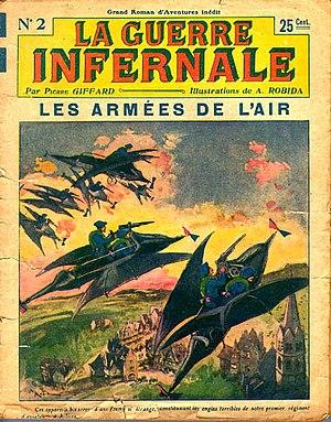 Albert Robida - La Guerre Infernale, Episode 2, January 1908