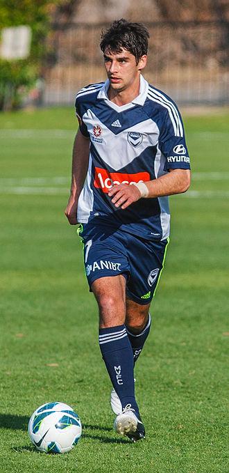 Guilherme Finkler - Finkler playing for Melbourne Victory in 2012