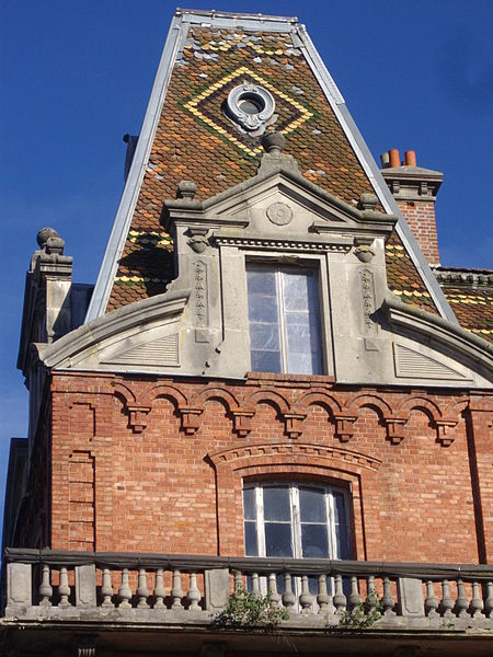 """""""Familistère"""" of Guise (Aisne, France): eastern wing of the social palace, south-west tower"""