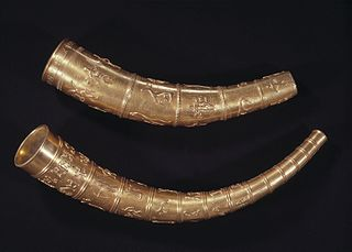 Golden Horns of Gallehus archaeological artefact