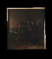 Gustav I mottager bibelöversättningen av bröderna Petri (Severin Nilsson) - Nationalmuseum - 132605.tif