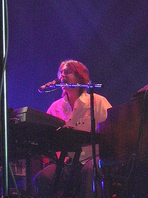 Guy Fletcher - Fletcher performing on 15 April 2005