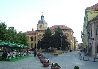 Gymnasium (school) - Gymnasium of Karlovci in Sremski Karlovci, Serbia