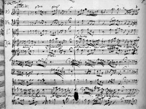 Tolomeo - Autograph of Tolomeo, 1728
