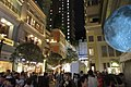 HK 灣仔 Wan Chai 利東街 Lee Tung The Avenue night 月球博物館 big Moon Museum by UK Luke Jerram October 2017 IX1 29.jpg
