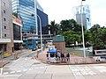 HK 香港電車遊 Tram tour view 金鐘 Admiralty Queensway Park July 2019 SSG 05.jpg