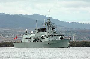 Irving Shipbuilding - HMCS Ottawa (FFH 341) was built by Saint John Shipbuilding Ltd.