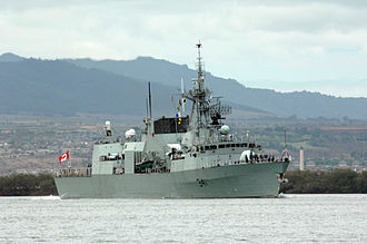 Irving Shipbuilding - HMCS Ottawa (FFH 341) was built by Saint John Shipbuilding Ltd.