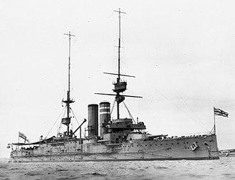 King Edward VII-class battleship - Dominion, c. 1909