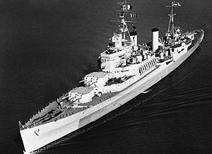 HMS Uganda (66) - Image: HMS Uganda underway