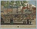 HUA-32423-Afbeelding van de rijtoer op het Munsterkerkhof te Utrecht na afloop van de promotie van JEN van Lynden tot Hoevelaken APBC van der Borch tot Verwolde.jpg