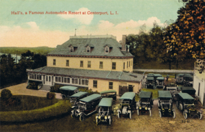 Centerport, New York - Hall's Automobile Resort and Hotel, 1910s