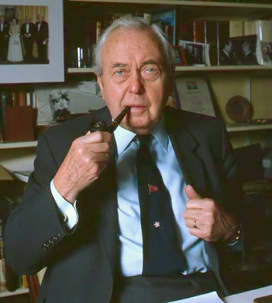 Harold Wilson, by Allan Warren