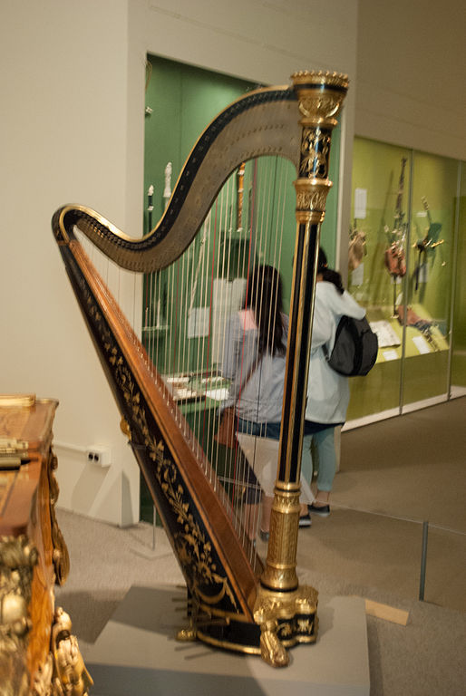 File Harp  Metropolitan Museum Of Art Jpg
