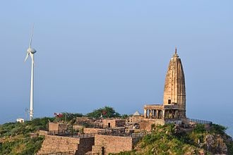 Chahamanas of Shakambhari - The Harshnath temple was commissioned by the Chahamana rulers