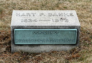 Hart Pease Danks - Gravestone of H.P. Danks, Kensico Cemetery, in Valhalla, New York