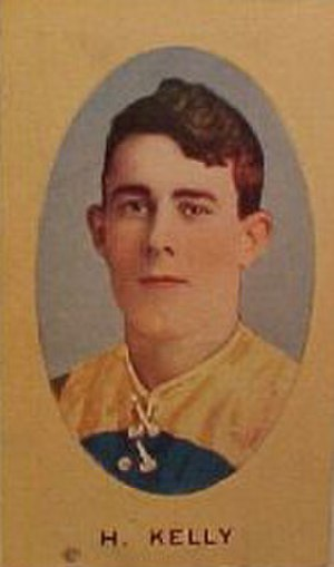 1908 VFL Grand Final - Harvey Kelly