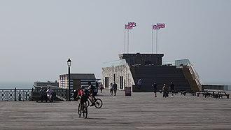 Hastings Pier - Image: Hastings Pier in 2018