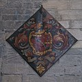 Hatchment on the south wall of the Nave, Hexham Abbey - geograph.org.uk - 749273.jpg