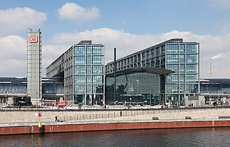 Gerkan, Marg and Partners - Berlin Hauptbahnhof, opened 2006