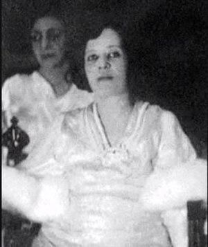 Huzaima bint Nasser - Huzaima in the wedding of her son.