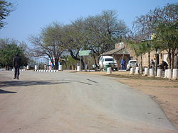 A street in Hectorspruit