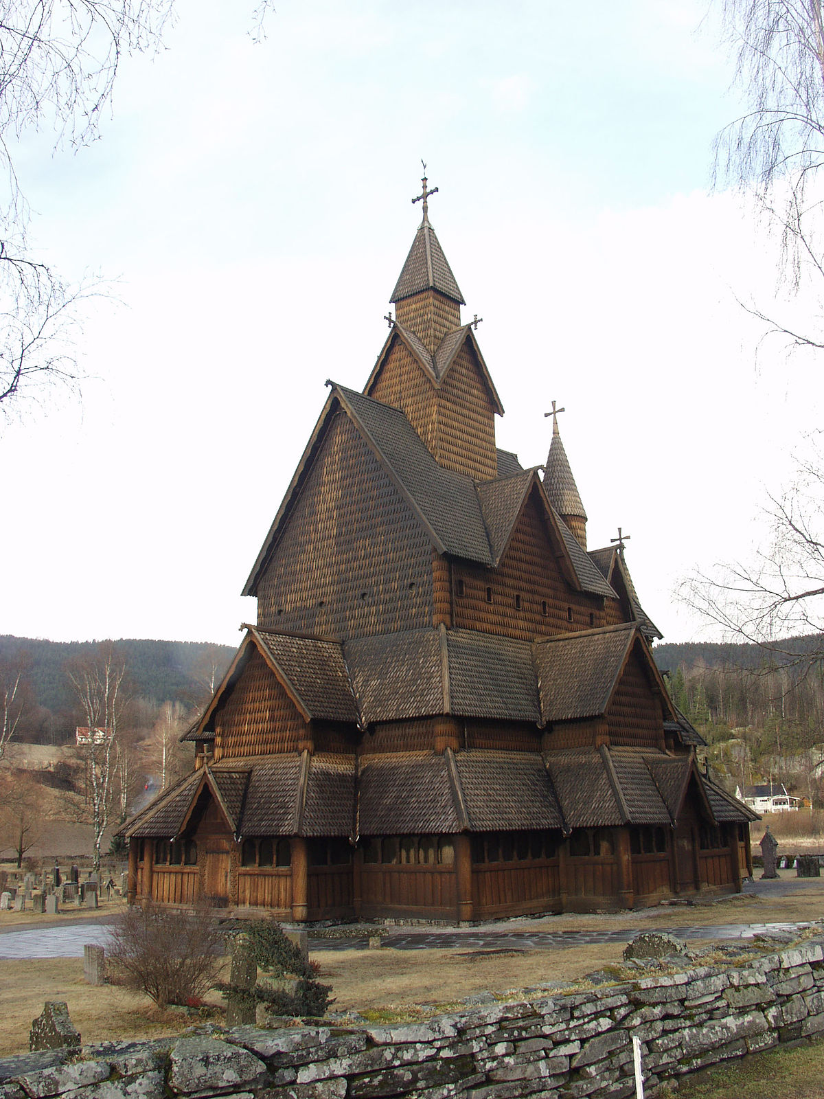stavkirker i norge kart Liste over stavkirker i Norge – Wikipedia stavkirker i norge kart