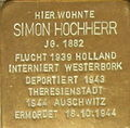 Heidelberg - Stolpersteine Simon Hochherr.jpg