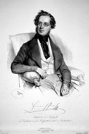 Heinrich Proch - Heinrich Proch; lithography by Joseph Kriehuber 1840