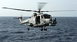 Helicopter Capturing Images Of A Lynx Landing On HMS Cornwall MOD 45150757.jpg