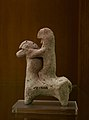 Hellenistic horse and rider statue in the Silemani Museum, Kurdistan Region of Iraq 06.jpg