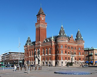 Helsingborg - Image: Helsingborg Townhall 2