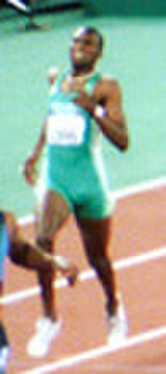 Hendrick Mokganyetsi - Mokganyetsi in 2000
