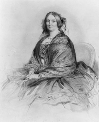 Henrietta Stanley, Baroness Stanley of Alderley - Lady Stanley of Alderley in 1860, by Richard James Lane