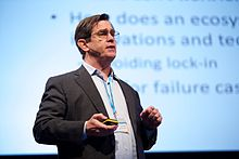 Henry Chesbrough at Open Innovation 2.0 Conference 2016 02.jpg