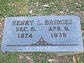 Henry L. Bridges grave marker, Minden, LA IMG 2525.JPG