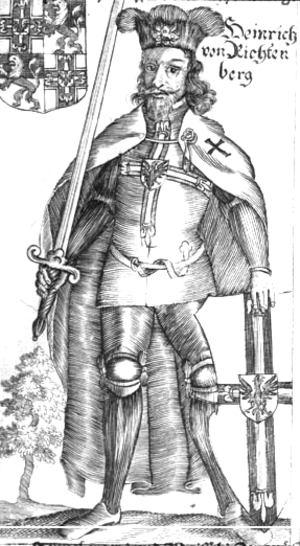 Heinrich Reffle von Richtenberg - Image: Henryk VII Reffle von Richtenberg