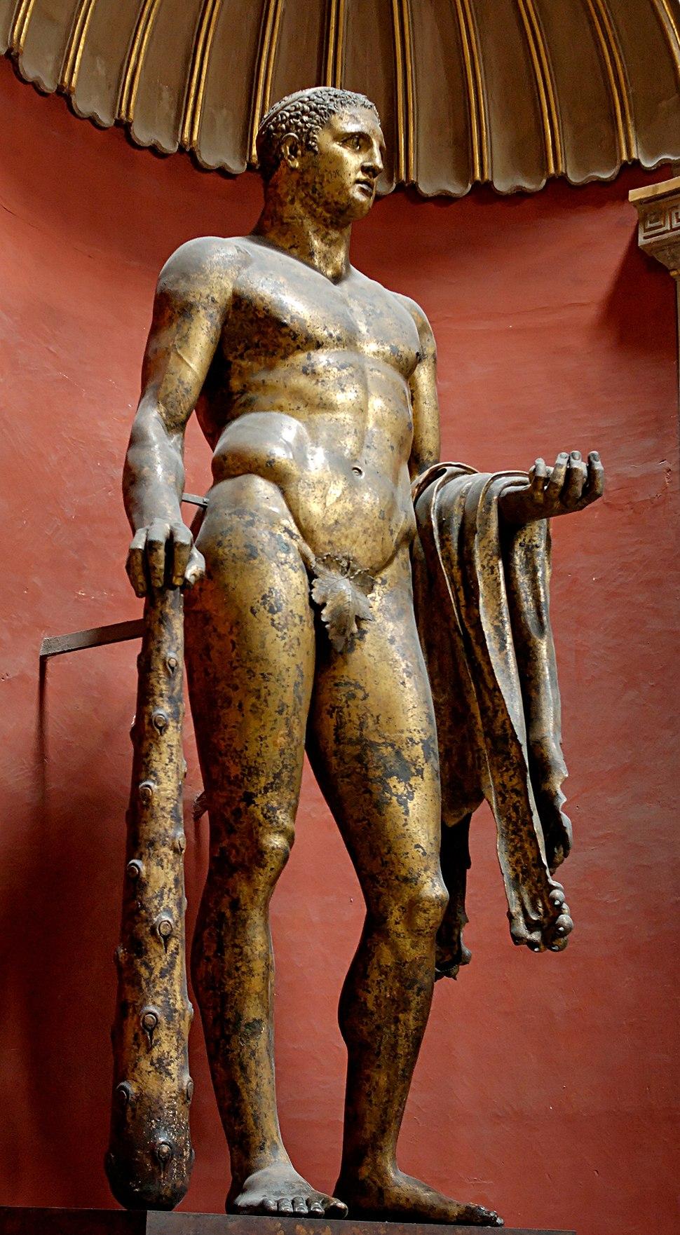 Heracles Pio-Clementino Inv252