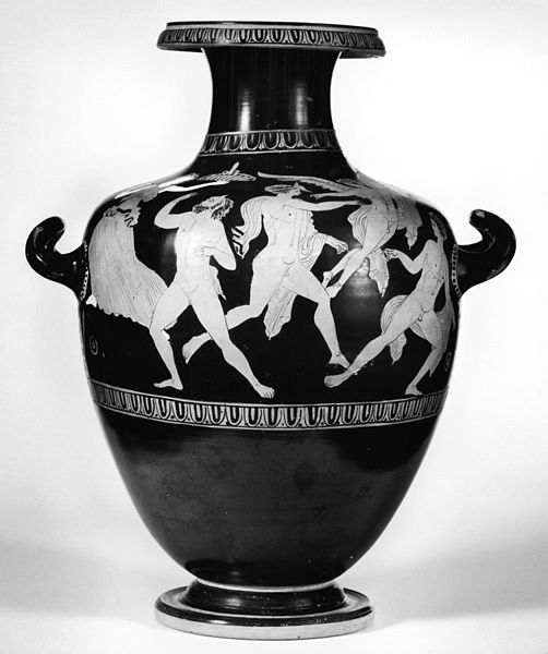 "File:Herakles Painter - Red-Figure ""Kerch-Style"" Hydria - Walters 48263 - Side A.jpg"