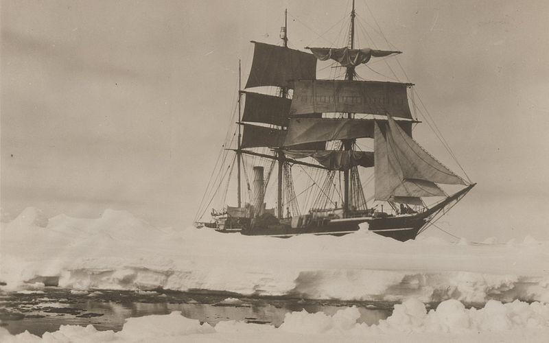 File:Herbert Ponting Scott's ship Terra Nova 1910.jpg