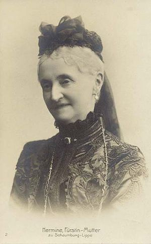 Princess Hermine of Waldeck and Pyrmont