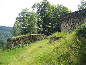 Bavaria - Prehistoric Heunischenburg, in the vicinity of Kronach