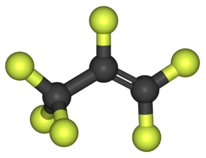 Hexafluoropropylene - Image: Hexafluoropropylene 3D