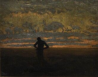 Nocturne (painting) - Thomas Eakins, Hiawatha, 1870,