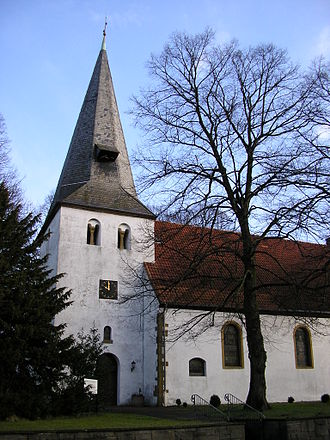 Hiddenhausen - Lutheran Church of St. Gangolf of Hiddenhausen