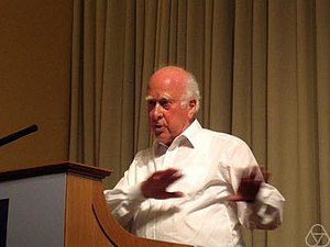 Higgs mechanism - Peter Higgs (2009)