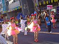High-school samba dancers, Takada-no-baba Festival 2006.jpg